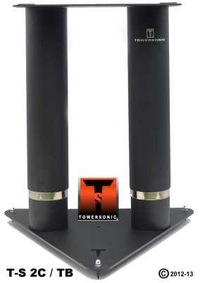 Towersonic TS-2C-TB Monitorstativ Paar