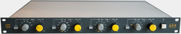 Miad Audio LCPQ4040 4-Band Induktor-EQ Full-Range