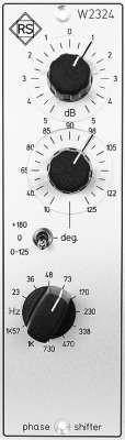 Roger Schult W2324 Phasenschieber