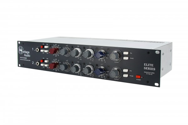 Heritage Audio HA73EQx2 ELITE Stereo-Preamp und EQ