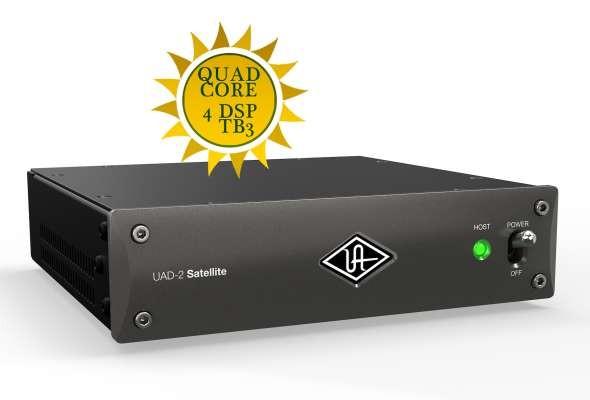 Universal Audio UAD-2 Satellite Thunderbolt 3 QUAD Core - DSP Beschleuniger System mit 4 DSP Kernen dynamic