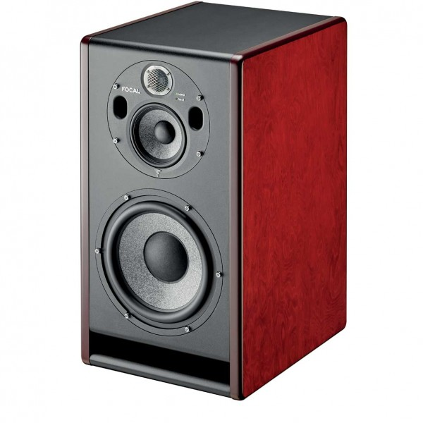 Focal Trio 11 Be Red Burr Ash front dynamic