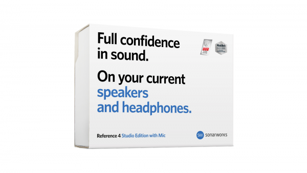Sonarworks Reference 4 Studio Edition with Mic box front
