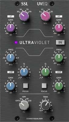 SSL 500 UltraViolet EQ