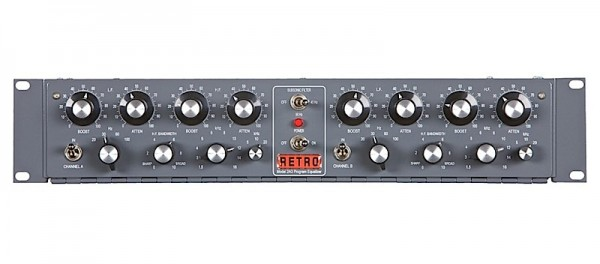Retro Instruments 2A3 Dual Channel EQ