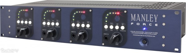 Manley Force 4-Kanal Preamp Frontseite