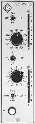 Roger Schult W2395 3-Band EQ Filtermodul