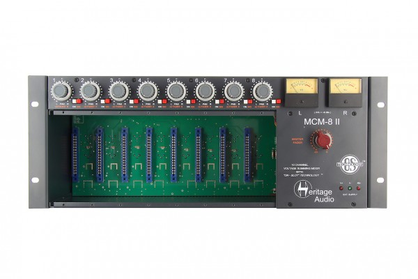Heritage Audio MCM-8 MKII 8-Slot Rack und Summierer