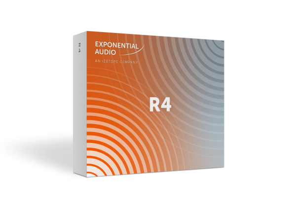 Exponential Audio R4 Stereo Reverb Plugin Box