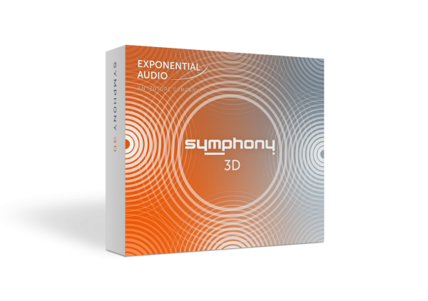 Exponential Audio SYMPHONY 3D Sourround Reverb Plugin Box