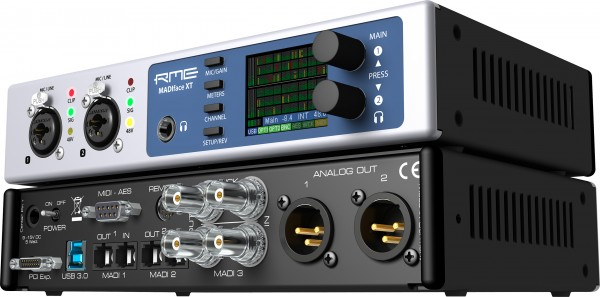 RME Madiface XT USB3.0 Audiointerface front