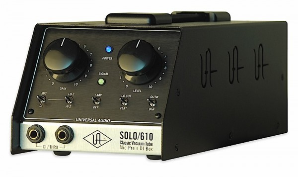Universal Audio Solo 610 Röhren Mikrofonvorverstärker & DI Box