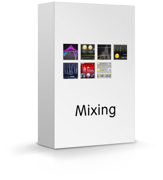 FabFilter MIXING BUNDLE enthält 7 Effekt Plugins für professionelles Mix-Engineering zum Sonderpreis
