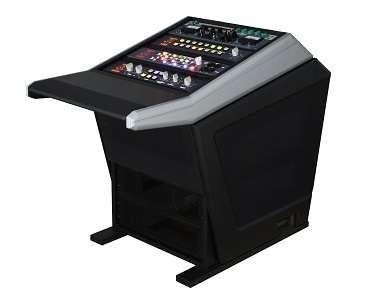 Sterling Modular Master Plan Uno Console (Silber Grau)