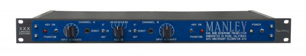 Manley Labs DMMPX Dual Mono 2-Kanal Preamp 30th Anniversary Edition front