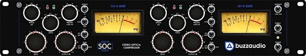 Buzz Audio SOC 20 - Stereo Optical Compressor