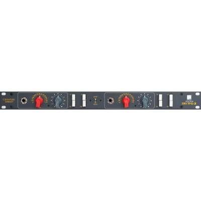 Chandler Limited TG2 EMI Stereo Mikrofonvorverstärker Preamp und DI front panel