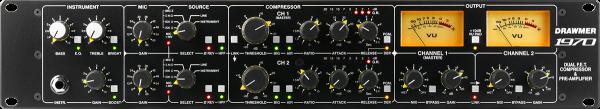 Drawmer 1970 – Dual FET-Kompressor und Vorverstärker