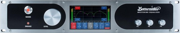 Bettermaker Mastering EQ frontpanel