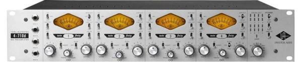 Universal Audio 4-710D Twin-Finity 4-Kanal Mikrofonvorverstärker