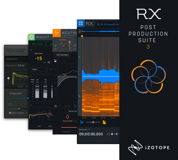 iZotope POST PRODUCTION SUITE 3 ESD