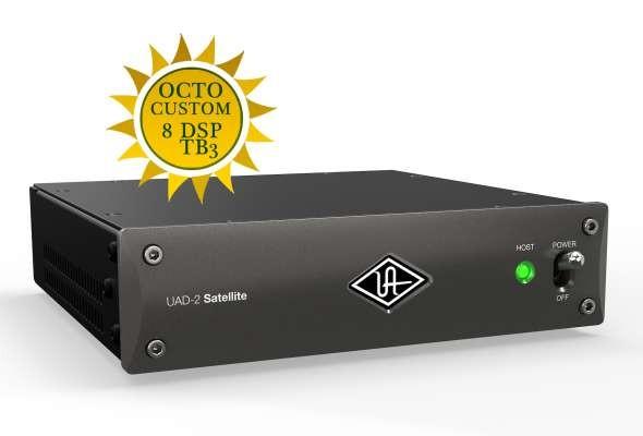 Universal Audio UAD-2 Satellite Thunderbolt 3 OCTO Custom - DSP Beschleuniger System mit 8 DSP Kernen dynamic