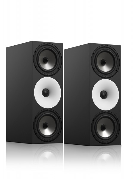Amphion TWO18 Passiver 2-Wege Monitor mit Dual LF/MF Driver front Paar