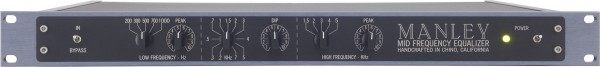 Manley Pultec Midfrequency EQ MIDEQ