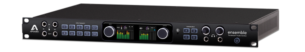 Apogee ENSEMBLE Thunderbolt 2 Audio-Interface und AD/DA Wandler frontpanel