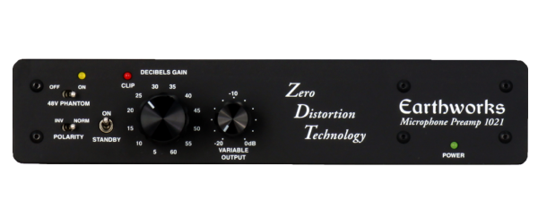 Earthworks 1021 ZDT 1-Kanal Preamp