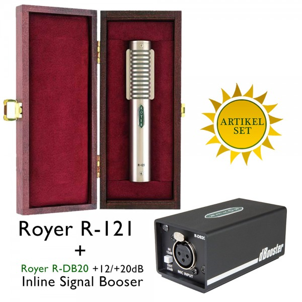 Royer R-121 und Royer DB-20 Bundle