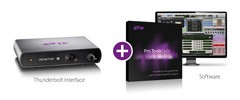 Avid Pro Tools HD Native Thunderbolt mit Pro Tools HD Software