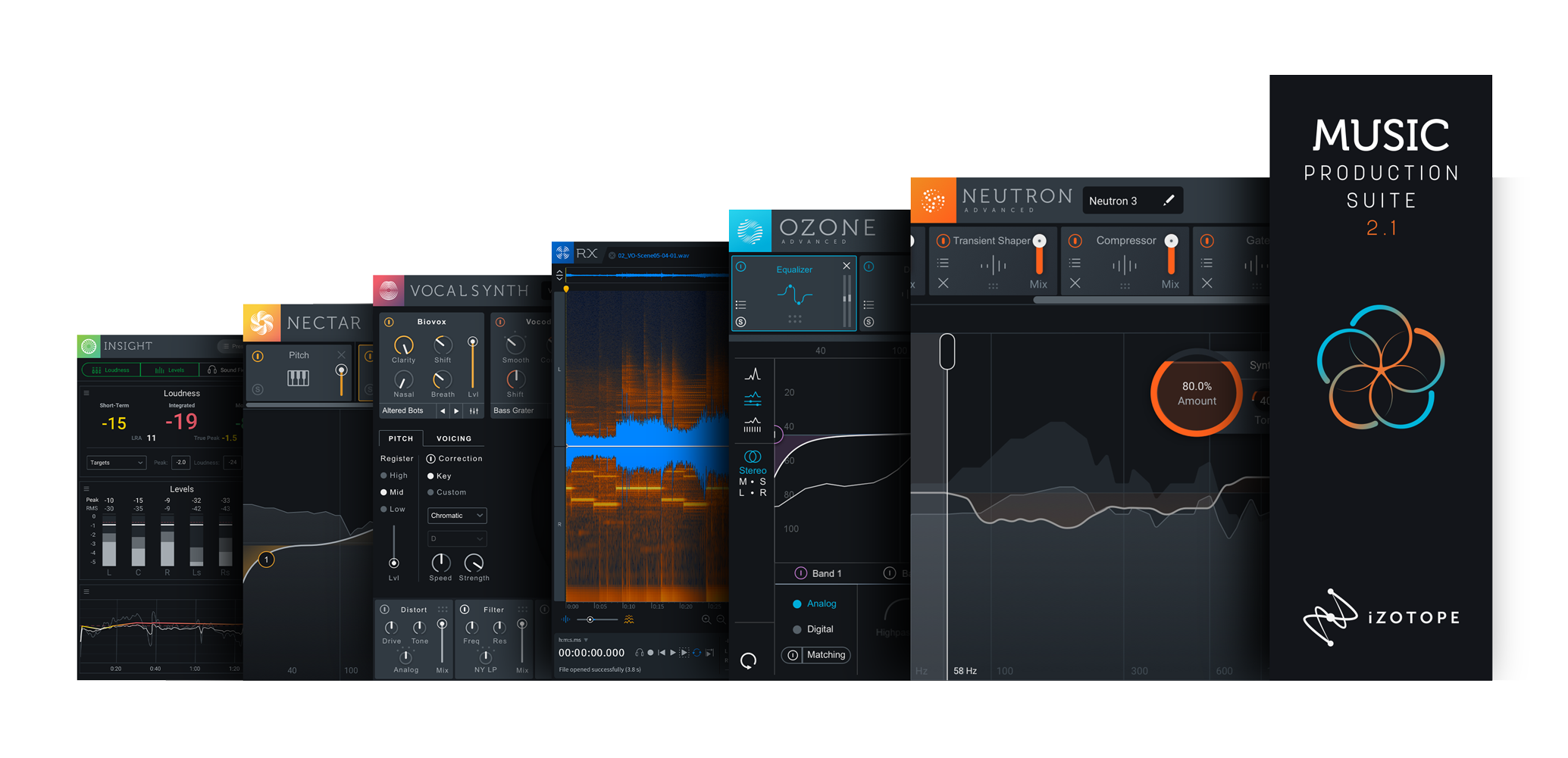 iZotope MUSIC PRODUCTION SUITE 2 1 + STEREO REVERB BUNDLE ESD