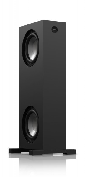 Amphion BaseONE25 Stereo Bass Extension System - one out of two Subwoofer Towers