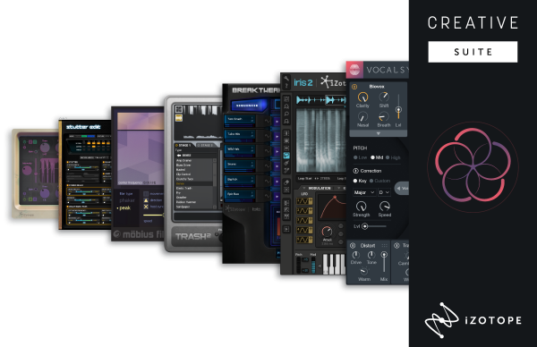 Izotope Creative Suite Bundle mit 7 Modulen