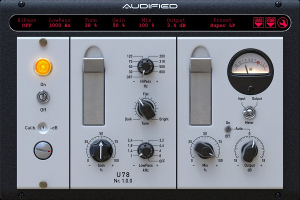 Audified U78 Saturator ESD