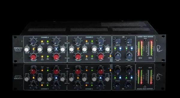 Rupert Neve Designs Portico II Master Buss Processor Black