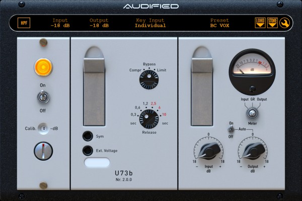 Audified U73b Compressor