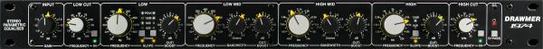 Drawmer 1974 4-Band Parametrischer Stereo-EQ front