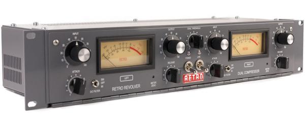 Retro Instruments Revolver Stereo Röhren-Kompressor