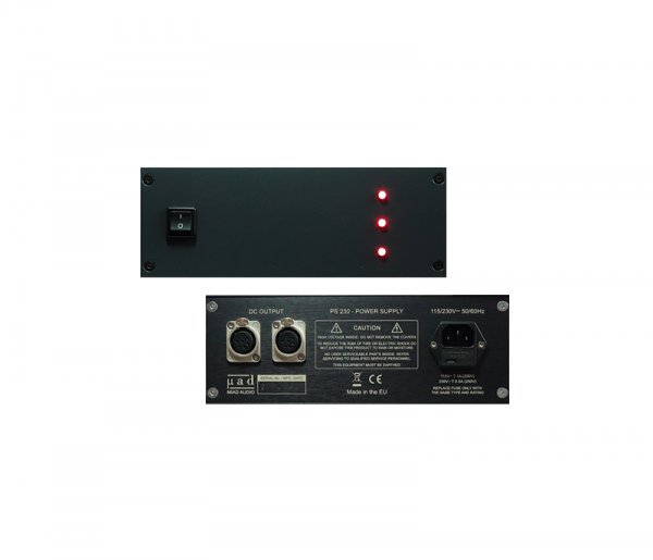 MIAD AUDIO PS230 external power supply for LCPQ4040 EQs