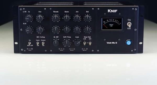 Knif Audio VARI MU II - Stereo Röhrenkompressor